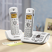 two handset digital phone and answering machine system by motorola