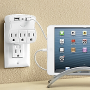 add a port ac usb wall outlet