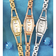 women s petite semi bangle watch by armitron
