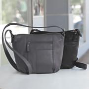 multi zip bucket bag