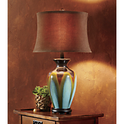 glazed ceramic table lamp 76