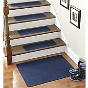 Set of 4 Stair Treads & Landing Rug