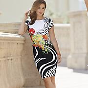 Side Bouquet Dress