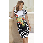 side bouquet dress 67