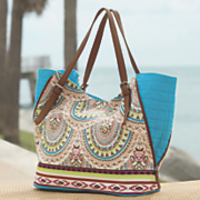 Side Vented Printed Tote