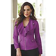 stretch cotton bright jacket