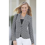 patterned blazer 41