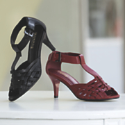 Basket Weave Shoe by Monroe and Main