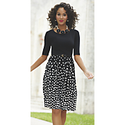audrey dot dress 112