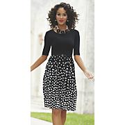 Audrey Dot Dress