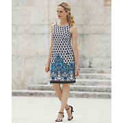 Border Dot Dress
