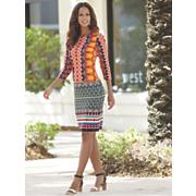 geometric dress 32