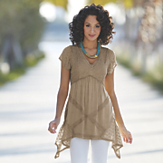 Acid Wash Tunic