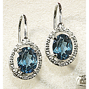 oval leverback earrings 41