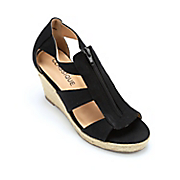 zip canvas wedge by classique