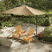 offset tilting umbrella 108