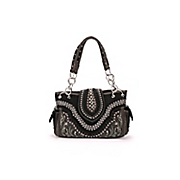 whipstitched rhinestone bag