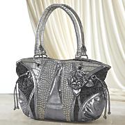 metallic rose bag 94