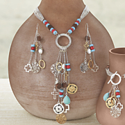southwest charm necklace
