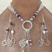 southwest charm wire earrings