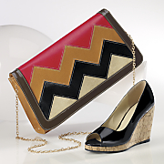 Gia Clutch and Wedge