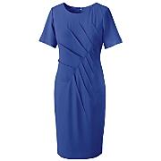 zelda tuck pleated dress