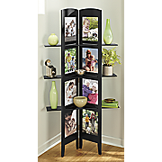 photoscreen with shelves