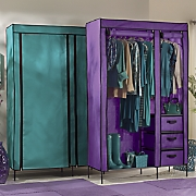 Colorful Storage Wardrobe