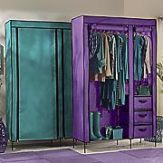 Colorful Storage Wardrobe