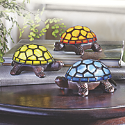 stained glass turtle lamp 68