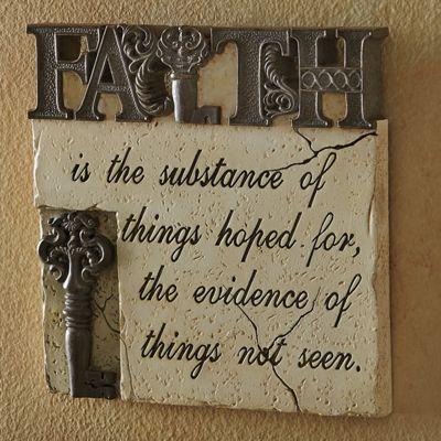 Faith Wall Décor