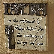 faith wall decor