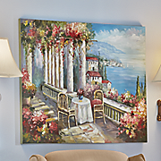 Enchanted Seaside Hand-Painted Canvas