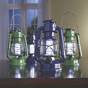 set of 2 vintage led lanterns