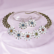 rahma petal necklace