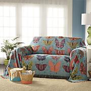 Butterfly Kaleidoscope Furniture Throw