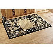 kitchen chefs rug