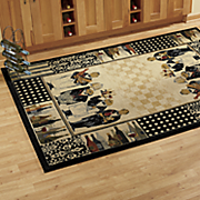 kitchen chefs rug