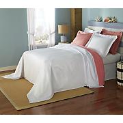 beach house bedspread sham panel pair and shower curtain