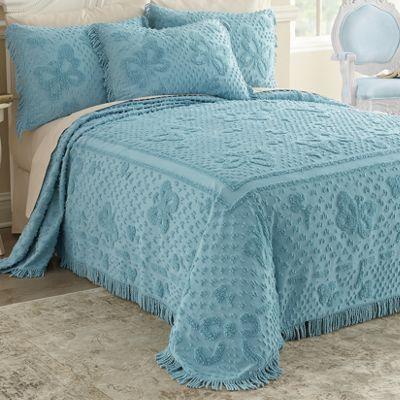 Mariposa Chenille Bedspread