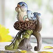 bluebird figurine