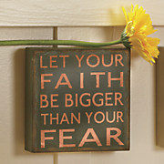 let your faith sign