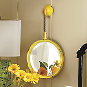 wall mirror with fob
