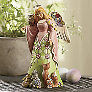jim shore spirit of spring woodland angel figurine