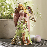 jim shore spirit of spring woodland angel figurine