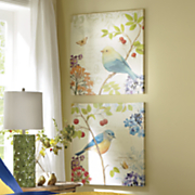 set of 2 avian prints