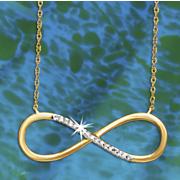 postpaid diamond eternity pendant