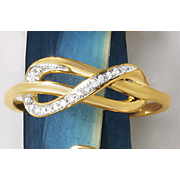 postpaid diamond loop ring