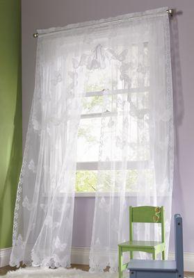 Butterfly Lace Window Treatments