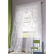 butterfly lace window treatments